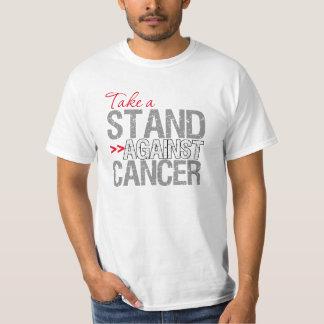 Tome un soporte contra el cáncer - cáncer de poleras