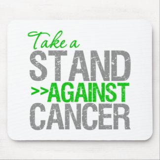 Tome un soporte contra el cáncer - cáncer del riñó tapete de ratón