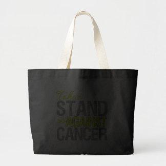Tome un soporte contra el cáncer - cáncer testicul bolsa
