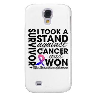 Tomé un soporte contra el cáncer de pecho masculin