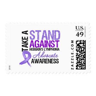 Tome un soporte contra el linfoma de Hodgkin Sello