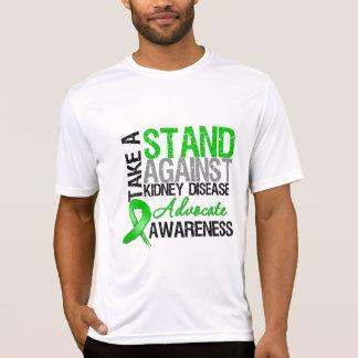 Tome un soporte contra enfermedad de riñón camiseta