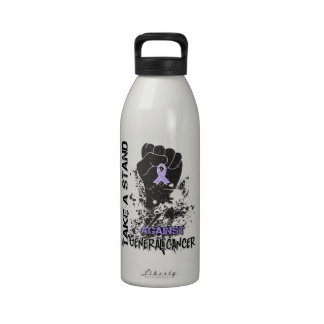 Tome un soporte contra general Cancer Botellas De Agua Reutilizables