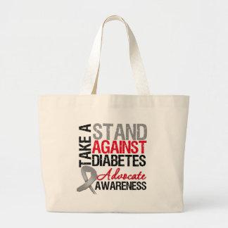 Tome un soporte contra la diabetes bolsas de mano