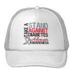 Tome un soporte contra la diabetes gorras de camionero