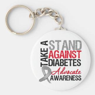 Tome un soporte contra la diabetes llavero