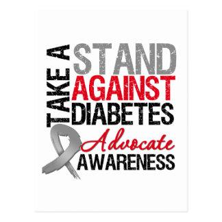 Tome un soporte contra la diabetes postal