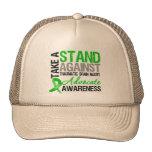 Tome un soporte contra lesión cerebral traumática  gorra