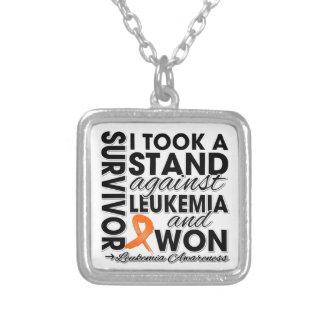 Tomé un soporte contra leucemia y gané colgantes personalizados