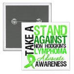 Tome un soporte contra no el linfoma de Hodgkin Pin