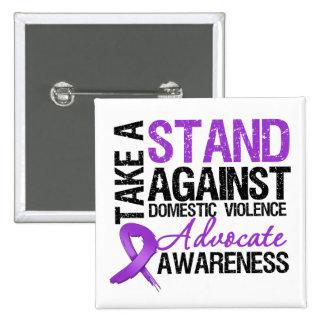 Tome un soporte contra violencia en el hogar pins