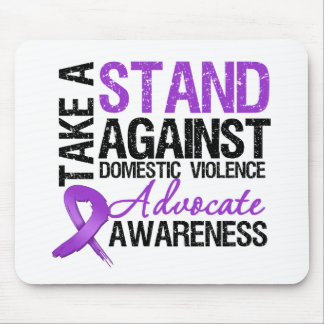 Tome un soporte contra violencia en el hogar tapetes de ratones