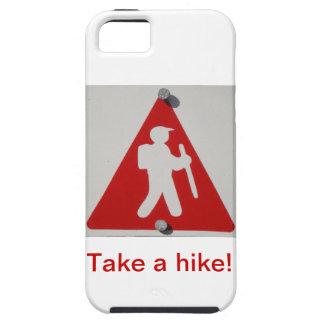 Tome una caja del teléfono celular del alza iPhone 5 carcasas