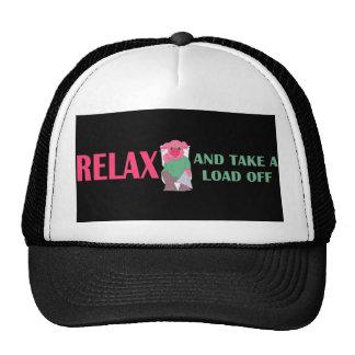 Tome una carga del casquillo gorras