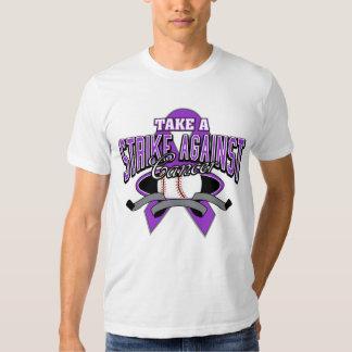 Tome una huelga contra el cáncer de Leiomyosarcoma Playeras