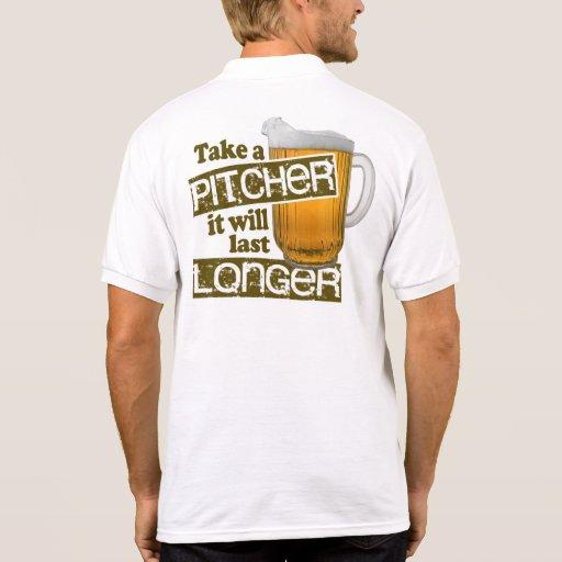 Tome una jarra que durará más de largo camiseta