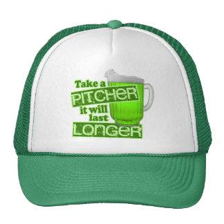 Tome una jarra que durará más de largo gorras de camionero