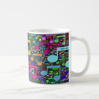 tome una nota tazas de café