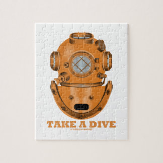 Tome una zambullida (el oceanógrafo del casco del puzzle