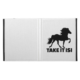 Tómele el caballo de Isi Islandia