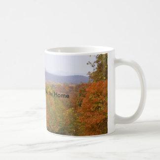 Tómeme la taza casera del otoño