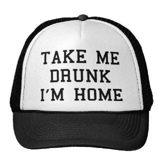Tómememe borracho son hogar gorra