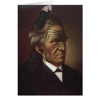 'Tomika Te Mutu' - Gottfried Lindauer Card