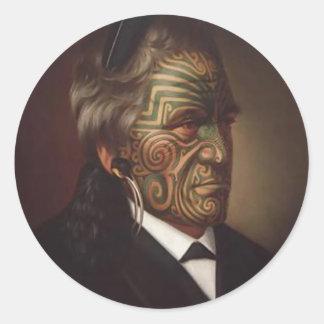 'Tomika Te Mutu' - Gottfried Lindauer Sticker