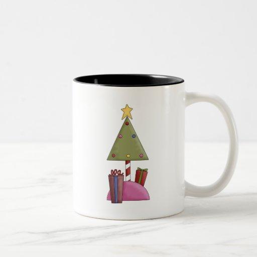 Tomillo del navidad · Árbol y regalos Taza