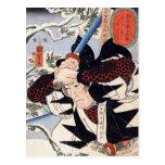 Tominomori, Utagawa Kuniyoshi Postal