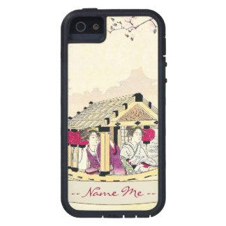 Tomioka Eisen en señoras de placer de un japonés d iPhone 5 Case-Mate Fundas