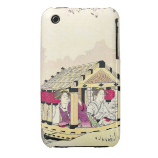 Tomioka Eisen en señoras de placer de un japonés d Case-Mate iPhone 3 Cárcasas