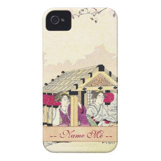 Tomioka Eisen en señoras de placer de un japonés d Case-Mate iPhone 4 Protector