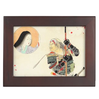 Tomioka Eisen Samurai Warrior Classic japanese art