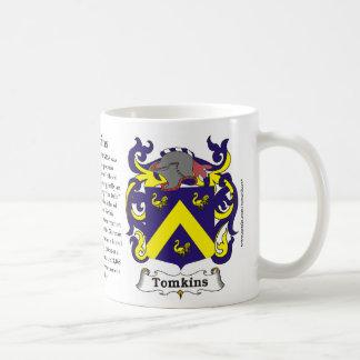 Tomkins Family Coat of Arms Mug