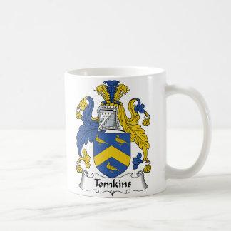 Tomkins Family Crest Coffee Mug
