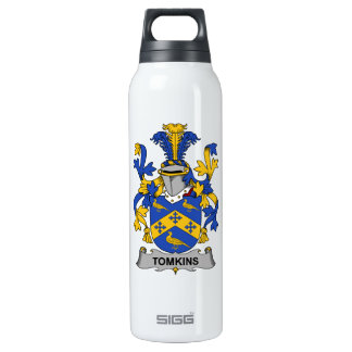 Tomkins Family Crest Thermos Water Bottle
