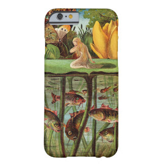 Tommelise very desolate on the water lily leaf, in barely there iPhone 6 case