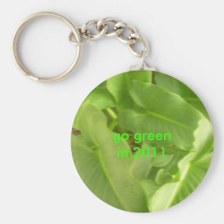 TOMMODEX 2011 GOING GREEN BASIC ROUND BUTTON KEYCHAIN