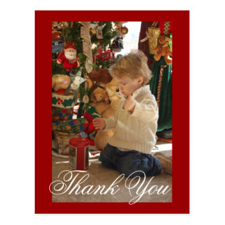 tommy 21 mths, Thank You - Postcard