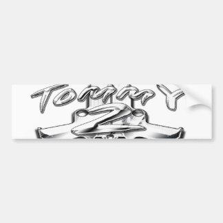 Tommy 2 Gunz Bumper Sticker