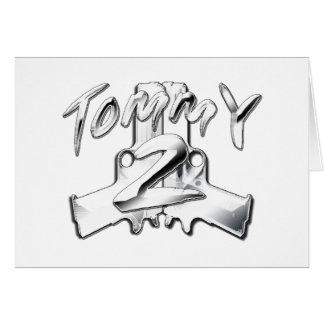 Tommy 2 Gunz Card