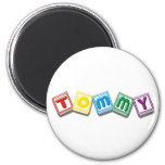 Tommy 2 Inch Round Magnet