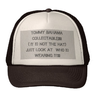 TOMMY BAHAMA COLLECTABLE!!!!!( IT IS NOT THE HA... TRUCKER HAT