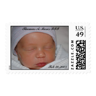 Tommy_Day2-4_0212, Thomas A. Moses... - Customized Postage
