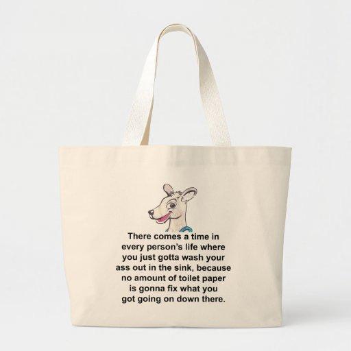 Tommy el canguro terrible 2 bolsas de mano