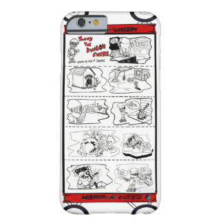Tommy el diseño cómico de Dwagon Swayer Funda De iPhone 6 Barely There