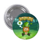 Tommy Four Leaf Clover Small Button