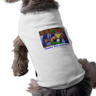 Tommy la camiseta del perrito de la chihuahua ropa para mascota