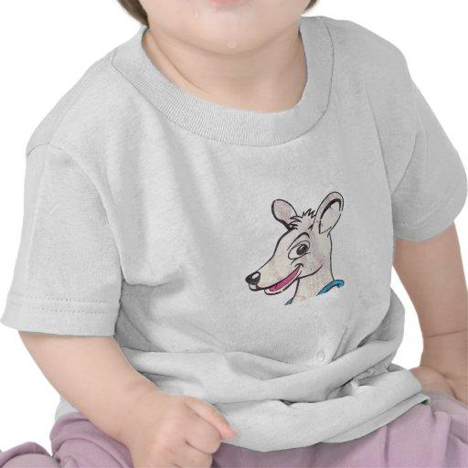 Tommy la imagen terrible del canguro camisetas